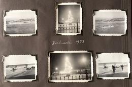 Ludwigshafen Weihnachten 1933. 6 Photos. - Lieux