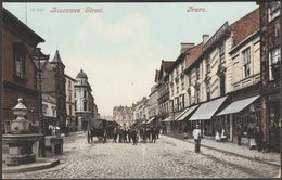 Boscawen Street, Truro, Cornwall, 1908 - Blum & Degan Postcard - England