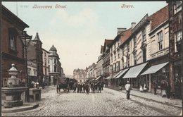Boscawen Street, Truro, Cornwall, 1908 - Blum & Degen Postcard - England