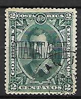 COSTA   RICA   -   GUANACASTE  -   1889 .  Y&T N° 20 Oblitéré - Costa Rica