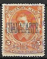 COSTA   RICA   -   GUANACASTE  -   1889 .  Y&T N° 21 Oblitéré - Costa Rica