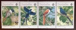 Seychelles 1996 Birds Paradise Flycatcher MNH - Vogels