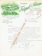 Lettre Illustrée 1950 WELLENSTEIN - Maison  FEIPEL-STAAR - Propriétaires-vignerons : Spécialités Vins De La Moselle - Lussemburgo