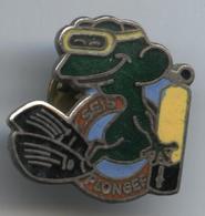 Pin's Plongée Grenouille CSEIS - Diving