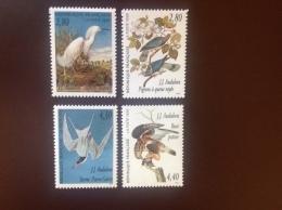 France Audubon Birds 1995 MNH - Vogels