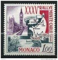 """Monaco YT 689 """" Rallye Automobile """" 1966 Neuf** - Unused Stamps"""