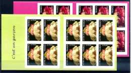 A12897)Frankreich 3957 - 3958 I MH** - Carnets