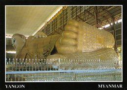 1 AK Myanmar * Tempel Des 72 Meter Langen Liegenden Buddha In Der Chauk Htat Gyi Pagode In Yangon * - Myanmar (Burma)
