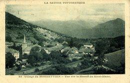 74 Village Du MONNETTIER - Vue Sur Le Massif Du Mont-Blanc (Monnetier-Mornex) - France