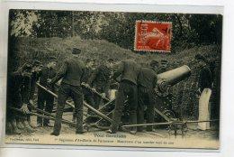 54-06 TOUL Garnison Militaires 6em Artillerie De Forteresse Manoeuvre D'un Mortier Rayé De 220 1910 Timb     /D08-2016 - Toul