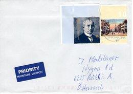 Auslandsbrief Von Briefzentrum 32 Mit 2 X 45 Cent   2018 - BRD