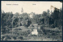 CZECH REPUBLIC - Pozdrav Z Průhonic - Průhonice Park And Castle - Chateau Et Parc De Průhonice - Castillo - República Checa