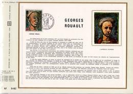 1971 DOCUMENT FDC PEINTURE DE GEORGES ROUAULT - Documents De La Poste
