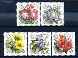 A14158)Blumen: UDSSR 5074 - 5078** - Altri