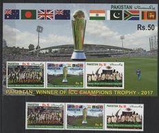 Pakistan (2017) - Set + Block -   /  Cricket - Champions - Cricket