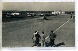 78-05 TOUSSUS LE NOBLE Carte Rare Aviation Aérodrome  Voyageurs Avions Piste Envol 1950   /D04-2016 - Toussus Le Noble