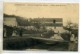78-09 AUFFREVILLE Carte RARE Fabrique De Cuivrerie Deglos Usine Vue De Derriere  1906    /D04-2016 - Autres Communes