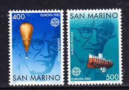 Europa Cept 1983 San Marino 2v ** Mnh (40294F) Promo - 1983