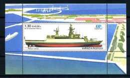 A14527)Schiffe: Bundesrepublik Privatpost Ostsee-Post 1 Block** - Schiffe