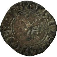 Monnaie, France, Charles VI, Denier Parisis, TB+, Billon, Duplessy:398 - 1380-1422 Charles VI Le Fol