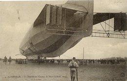 Dt 54 LUNÉVILLE - Un ZEPPELIN Au Champ De Mars (3 Avril 1913) - Beau Plan Animé - Luneville