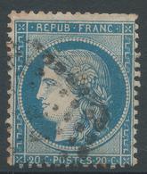 Lot N°44506   N°37, Oblit Losange PP Des Ambulants - 1870 Siege Of Paris
