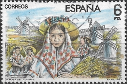 SPAIN 1983 Masters Of Operetta - 6p - Scene From La Rosa Del Azafran FU - 1931-Today: 2nd Rep - ... Juan Carlos I