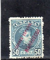 MAROC 1903-9 * - Maroc Espagnol