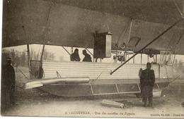 Dt 54 LUNÉVILLE - Une Des Nacelles Du ZEPPELIN (3 Avril 1913) - Beau Plan Animé - Luneville