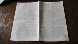 HISTOIRE DE LA GRECE - ILES IONIENNES -  CORFOU - L'ETAT DE LA MOREE - BOTZARIS - KOLOKOTRONIS -1826. - Journaux - Quotidiens