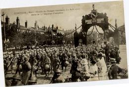 Dt 54 LUNÉVILLE - Entrée Officielle Des Troupes Victorieuses (10 Août 1919) - Défilé Du 37è RI - Luneville