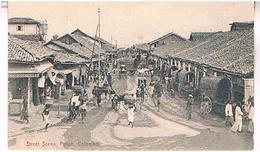 STREET  SCENE  PETTAH    COLOMBO   TBE  T204 - Sri Lanka (Ceylon)