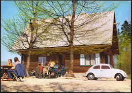 Slovenia Kamnik 1970 / Mengeska Koca Na Gobavici / Mountain House / Car VW - Slovenië