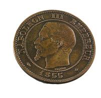 2 Centimes - Napoléon III - France - 1855 BB - Tête De Chien - Bronze - TTB - - France