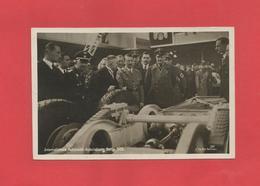 AK Von Der Automobil Ausstellung Berlin 1936 Mit Hitler Zu Besuch Foto Hoffmann - Guerre 1939-45