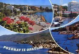 Pozdrav Iz Opatije - Formato Grande Viaggiata – E 7 - Yugoslavia