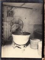 Tirage Photo Albuminé Machine à Pétrir Le Pétrin électrique De La Boulangerie Orcel Vers 1900 - Herbst & Co. Halle A.s. - Objects