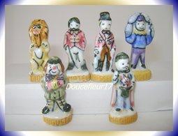 Cirque 1993 ... Lot De 6 Fèves .. Ref AFF : 6-1993 .. ( Pan 009) - Personnages