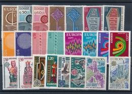 CD-422 :ANDORRE: Lot** Avec EUROPA De 1966 à 1977 - Französisch Andorra