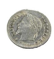 20 Centimes - Napoléon III - France - 1867 A  -  Argent - TTB - - E. 20 Centesimi