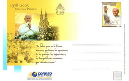 Argentina Papa Giovanni Paolo II Juan Pablo E Orden Predicadores Dominicos Cordoba - Interi Postali