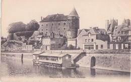 CPA -  MAYENNE Le Vieux Château - Mayenne