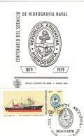 Argentina FDC Centenario Servizio Idrografia Navale Hidrografia Naval - FDC