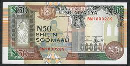 SOMALIA PR2 50 SHILIN 1991   UNC. - Somalie