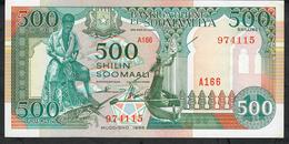 SOMALIA P36c 500 SHILIN 1996   UNC. - Somalie