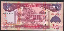 SOMALILAND P20 1000 SHILIN 2011   UNC. - Somalia