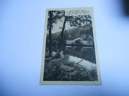 43 HAUTE LOIRE CARTE ANCIENNE EN N/BL DE 1910 BORDS DU LIGNON PRES DU CHAMBON SUR LIGNON COIN RECHERCHER DES PECHEURS - Le Chambon-sur-Lignon