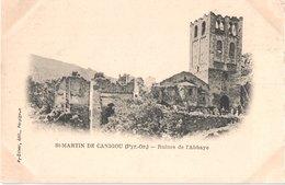 FR66 SAINT MARTIN DU CANIGOU - Py Oliver - Précurseur - Ruines De L'abbaye - Belle - Autres Communes