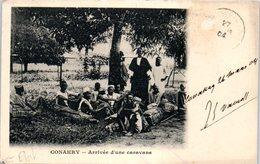 CONAKRY - Arrivée D'une Caravane - Konakry (état:coin) - Guinée