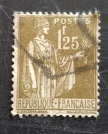 Type Paix N° 287 - 1932-39 Paz